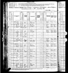 1880 Census for William Penn Barnes