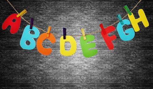 alphabet Pixaby