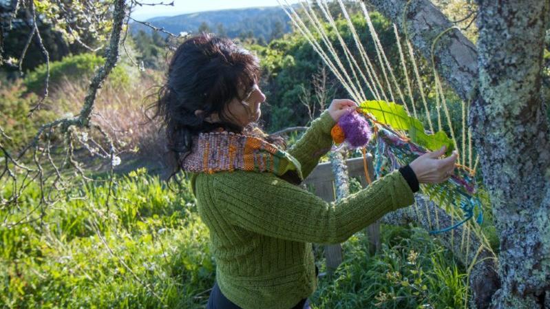 TreeWeaving Silvia Schroeder Innerweaving