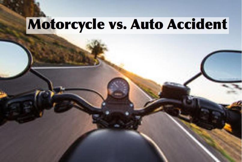 Motorcycle Crash Accident On 15 Freeway