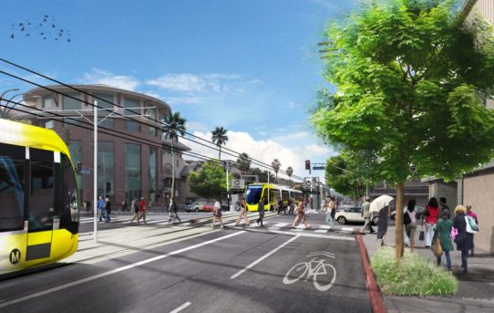 L.A. Officials Announce Light Rail Coming to the San Fernando Valley