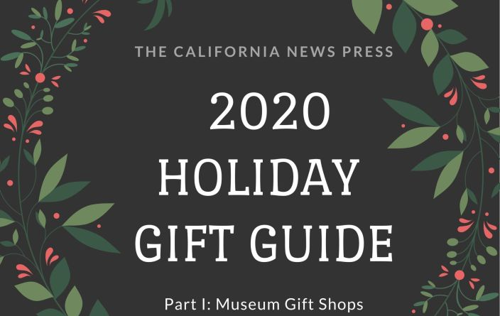 holiday graphic for 2020 holiday gift guide