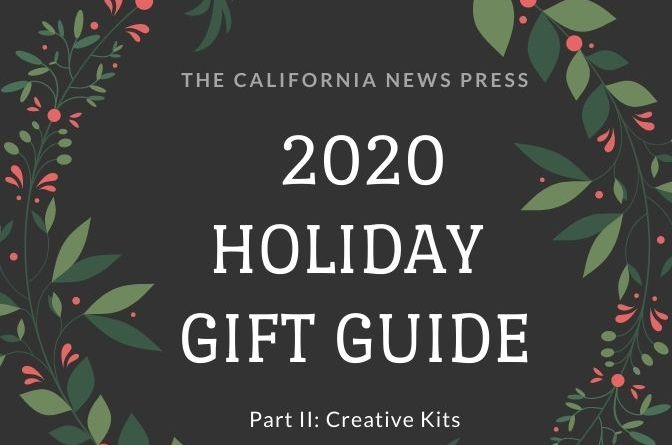 2020 Holiday Gift Guide, Part II: Creative Kits graphic and text