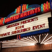 KORN Private Concert for SiriusXM Octane at the Theatre at Ace Hotel Los Angeles 10/21/2016