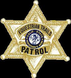 Equestrian Trails Patrol Symbol