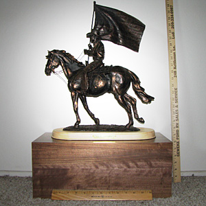 Jim Real Memorial Drill Team Trophy