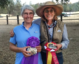Ellen and Candace win Champion and Reserve Champion at the State Event