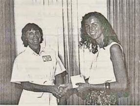1992 Scholarship Winner Peggy Marsh of Santa Barbara