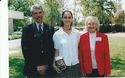 2001 Scholarship Winner Teresa Crocker