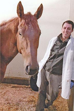 Aaron Harlan Veterinary Scholarship Winner