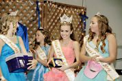 2014 CSHA Royalty Crowning Ceremony at Show of Champions 1st Princess Cody Foster 2nd Princess Arielle Spotswood Miss CSHA McKensey Middleton
