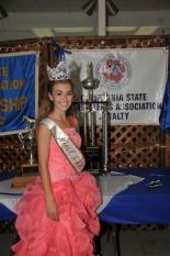 2014 Miss CSHA Mckensey Middleton and Trophies