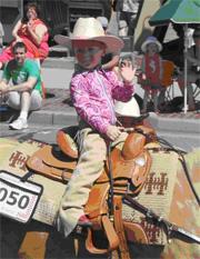Young Parade Rider