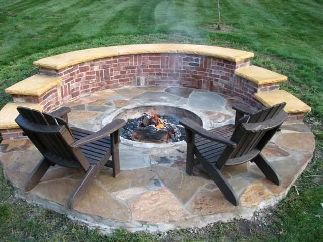 12 Fire Pit Designs For Your Backyard & Its Personality! on Fire Pit Design  id=20400