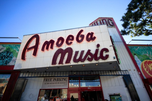 Image result for amoeba records san francisco