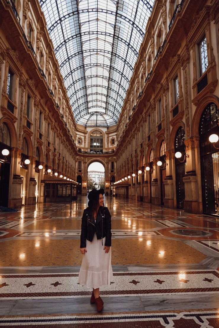 Milan Galleries - what to do and see in 2 days