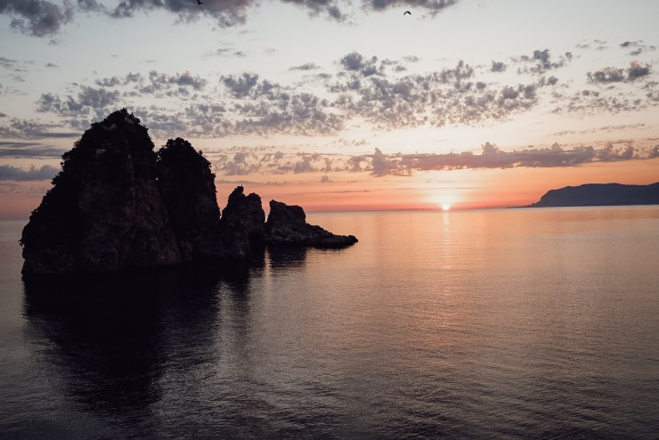 La Tonnara di Scopello sunrise