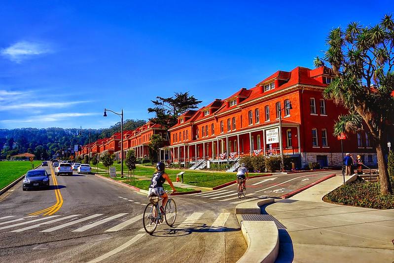 The San Francisco Presidio is a California Landmark