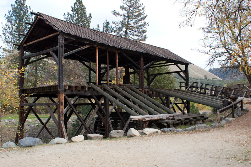 Sutters Mills is the California Landmark to gold discovery