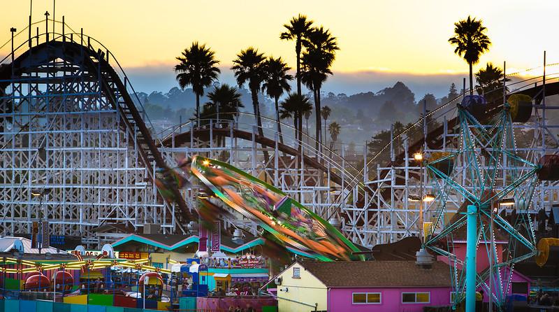 The Santa Cruz Boardwalk is a Northern California Landmark