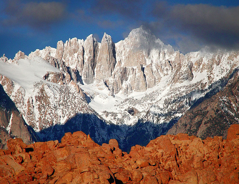 Mt Whitney is the highest point in California