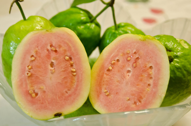 Guava are easier to grow on the patio