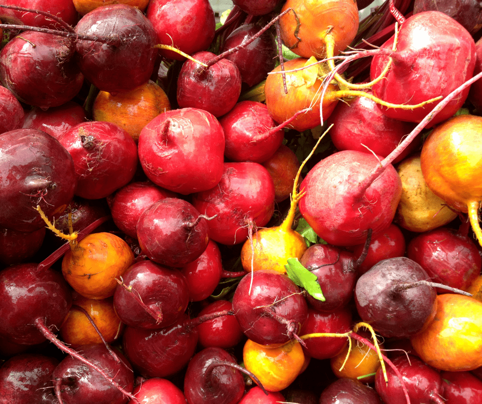 Beets are easy to grow in a raised bed or container garden