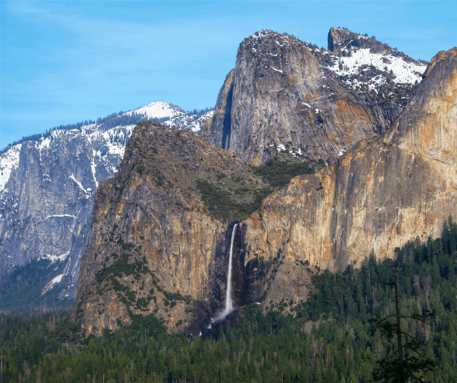 Bridalveil Fall should be included on your one day in Yosemite itinerary