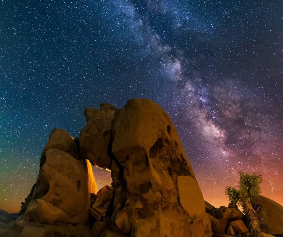 The Milky Way in Joshua Tree National Park