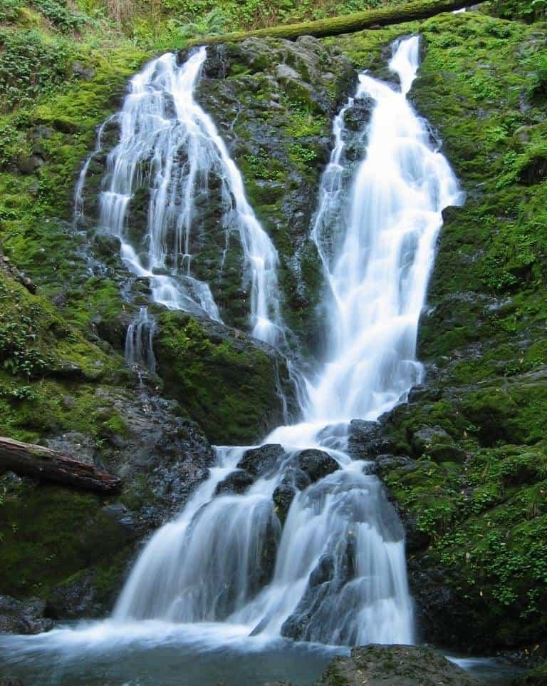 Cataract Falls in Marin County