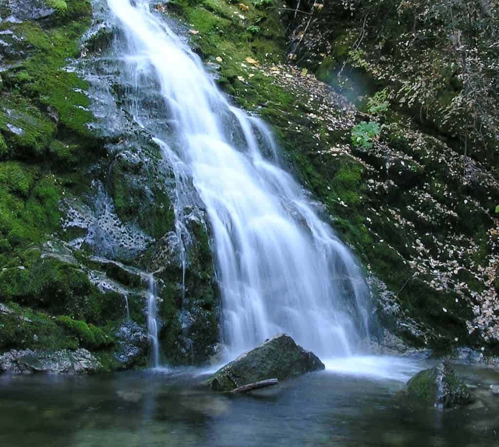 Whiskeytown falls is one of the best waterfalls in Northern California