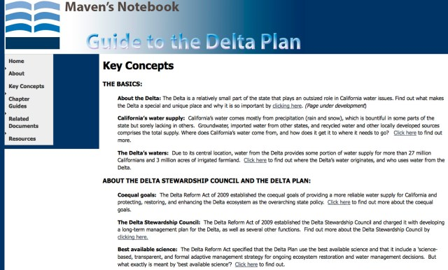 In March, Austin introduced a guide for navigating the complex Delta Plan.