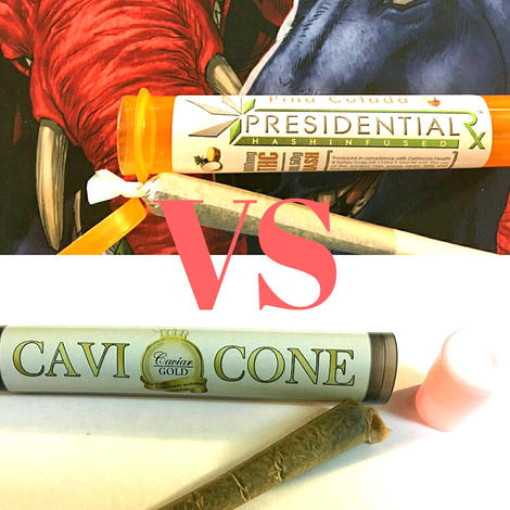 PRESIDENTIAL HASH JOINT VS CAVI CONE | The California Weed Blog