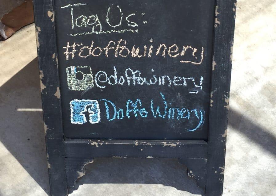 Winery doffo temecula