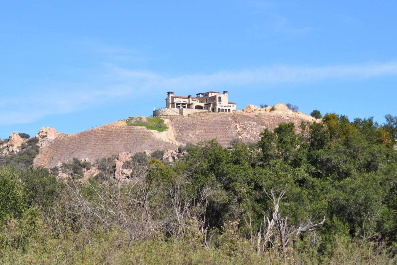 malibu winery on hilltop california