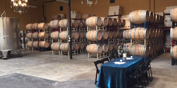 winery barrel room magnavino oxnard california