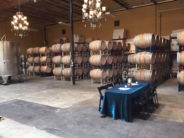 winery barrel room magnavino oxnard california