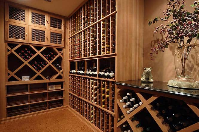 wine storage for article