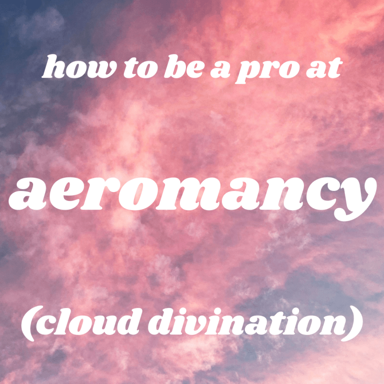 how to do aeromancy