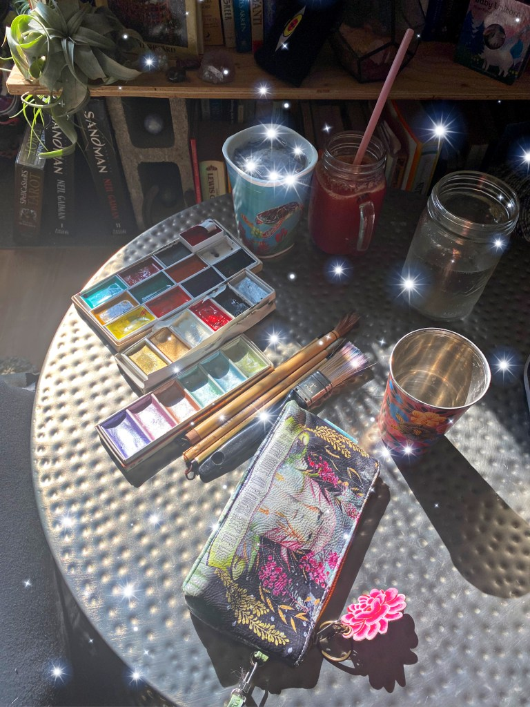 witchy art supplies