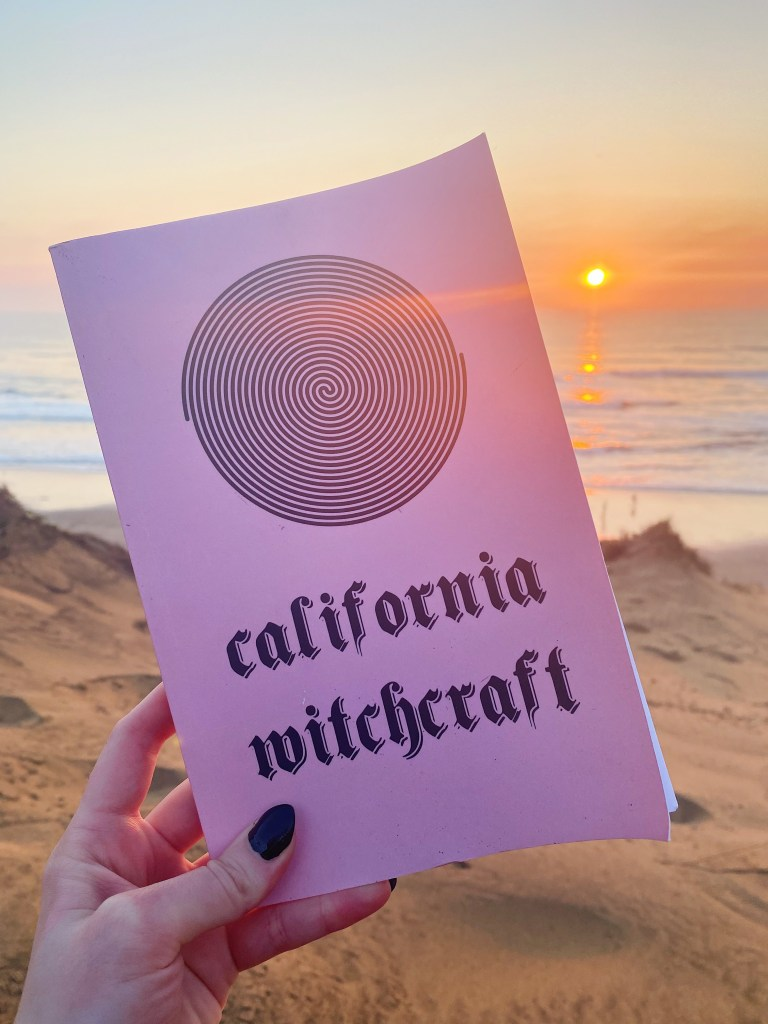 California witchcraft a magical trip through the universe book