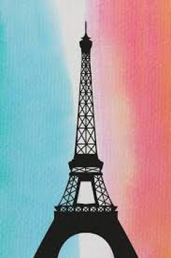 tour eiffel drapeau français