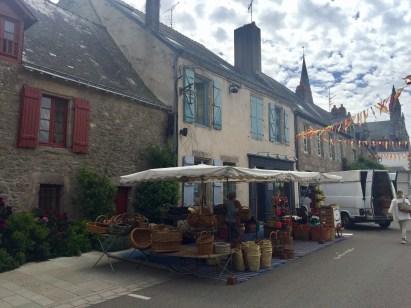 Marché à Guérande.