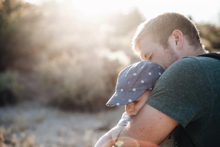 bébé père amour