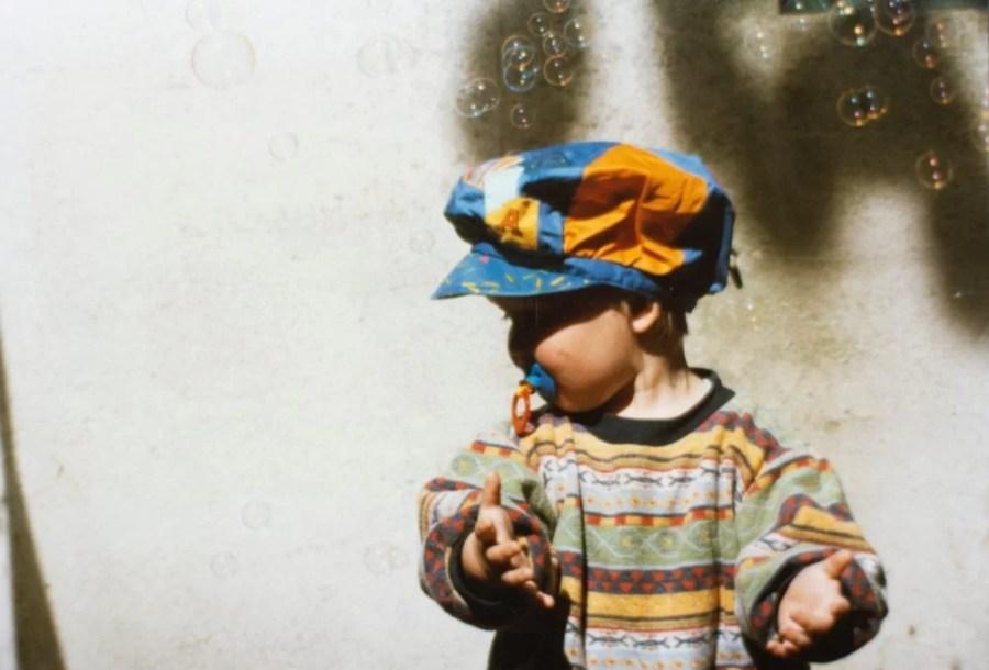 enfant tétines