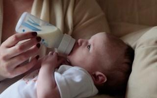 lait infantile épaissi