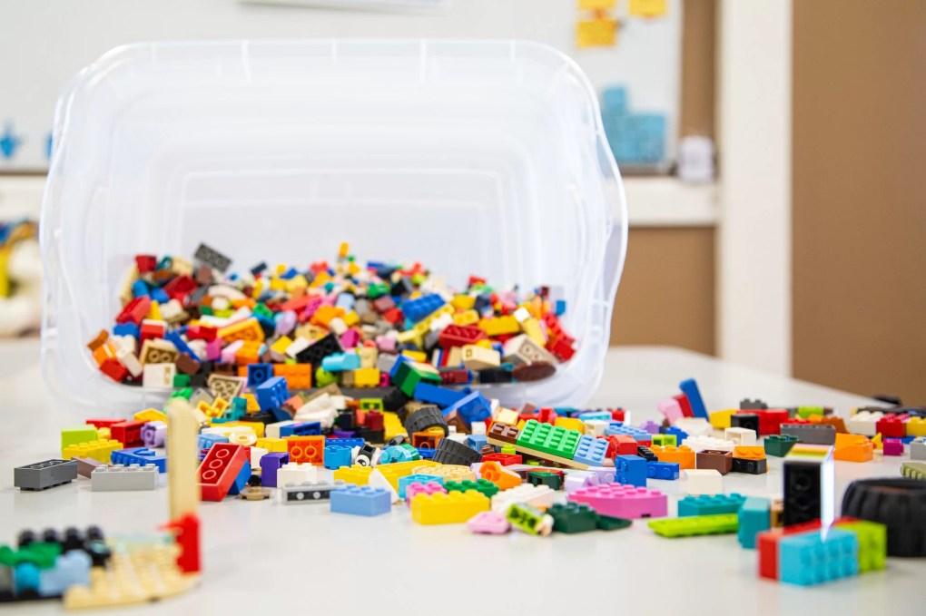 briques lego enfant