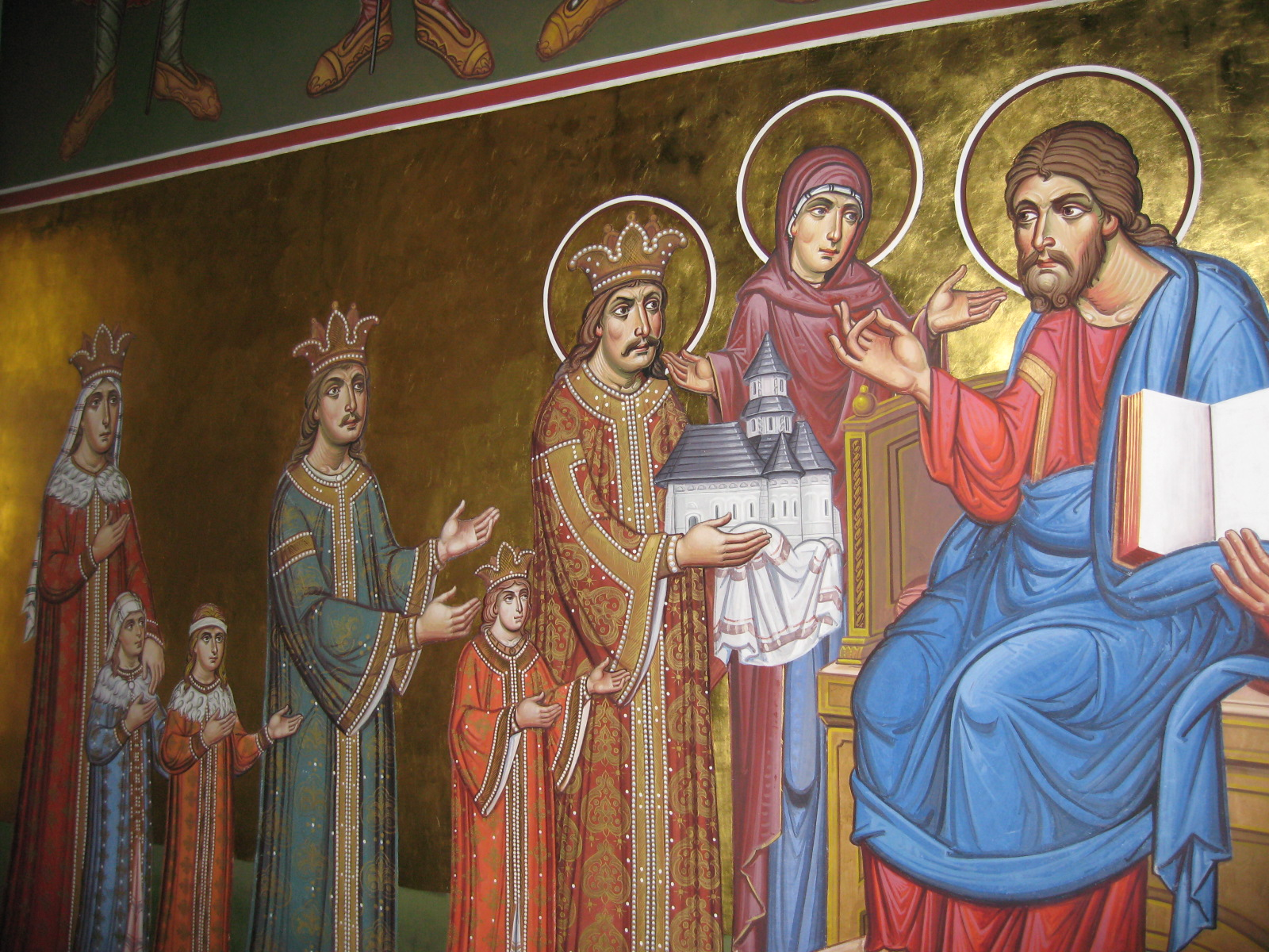 Stefan de vorba cu Domnul Iisus