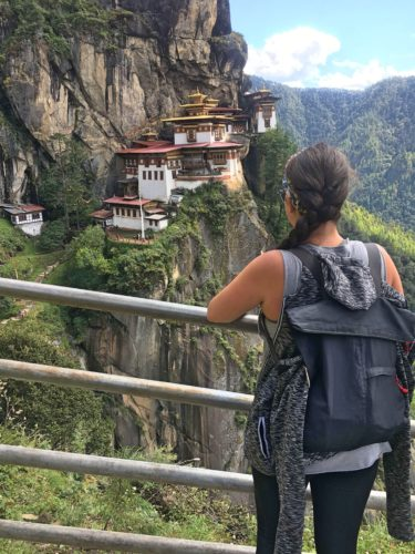 Tiger's Nest Paro and Cali's back