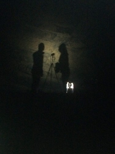 shadows in cave